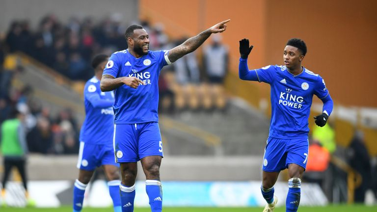 Wes Morgan has made 292 appearances since joining Leicester in 2012