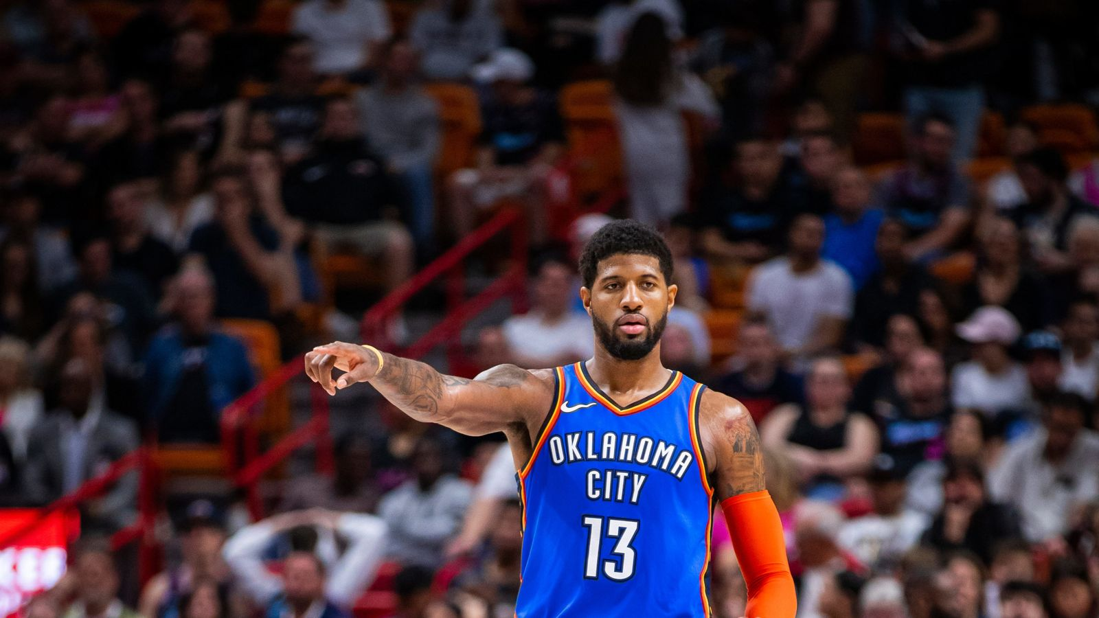Oklahoma City S Paul George Fined By Nba After Criticising