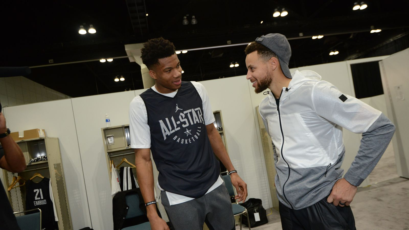 Giannis Antetokounmpo Could Choose Steph Curry For All