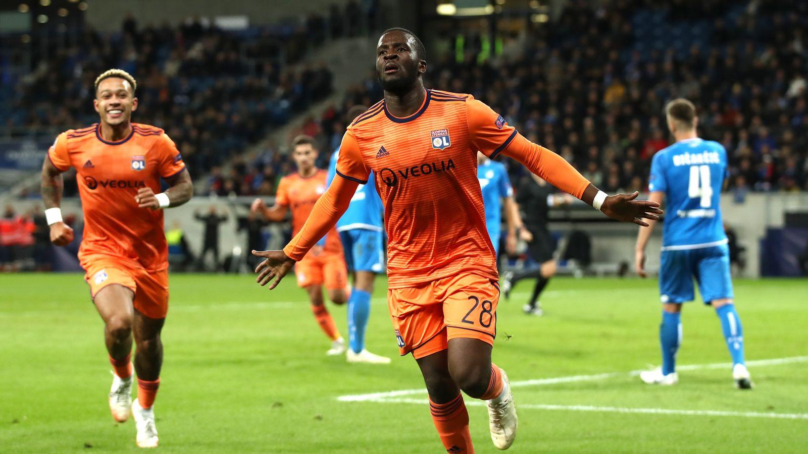 Tottenham agree £65m deal for Lyon's Tanguy Ndombele
