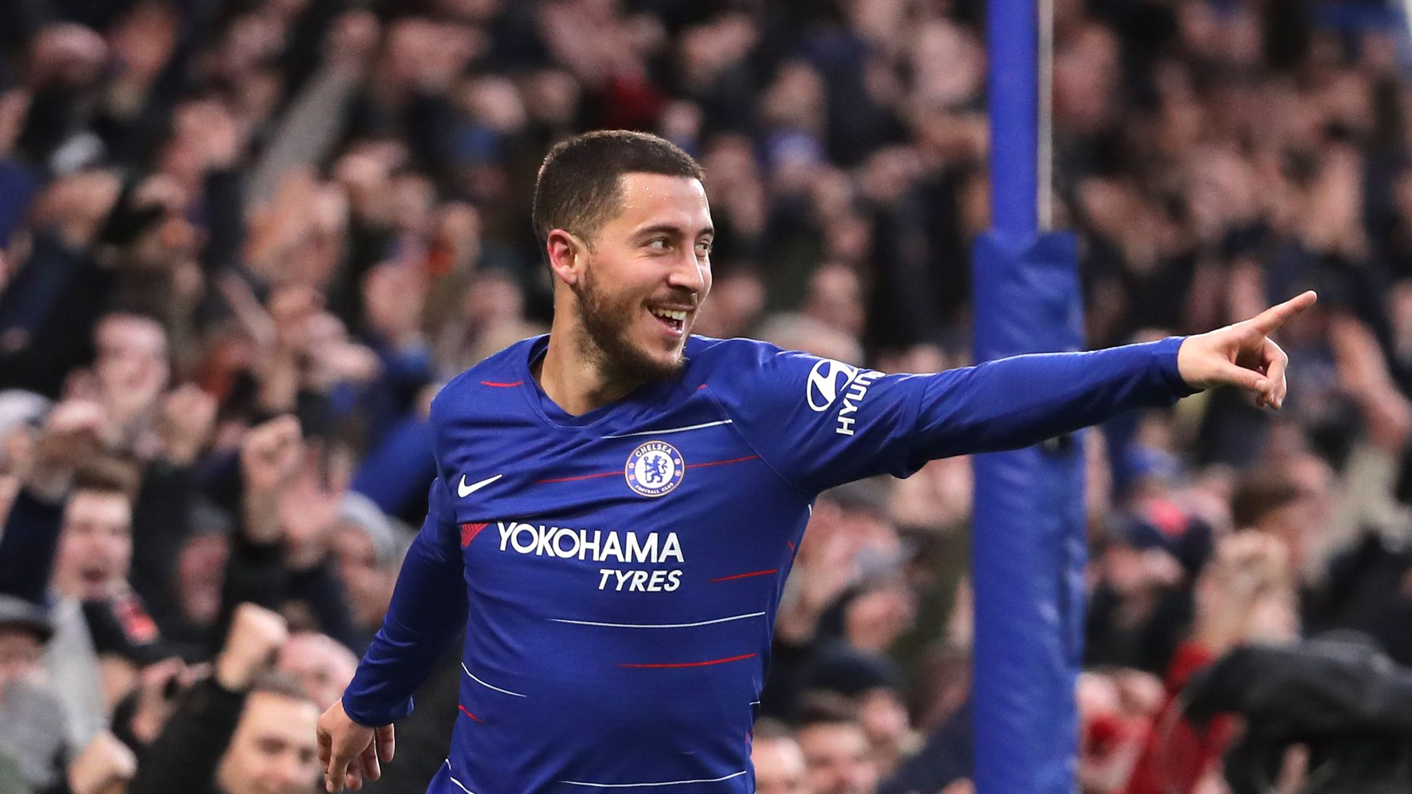 Maurizio Sarri 'not worried' about Eden Hazard-Real Madrid links
