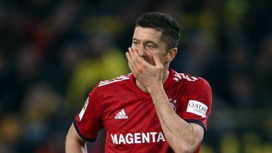 Robert Lewandowski is set to lead the line for Bayern Munich against Liverpool