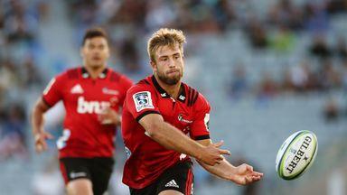 Braydon Ennor impressed for the Crusaders in their Super Rugby season-opener