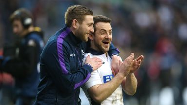 Finn Russell and Greig Laidlaw were both on Top 14 duty during the Six Nations break