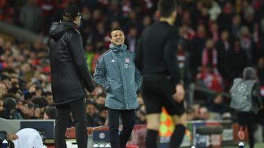 Jurgen Klopp and Niko Kovac had a heated exchange at full-time