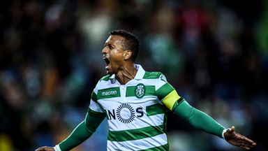 Nani scored nine goals and added seven assists in 28 appearances this season for Sporting