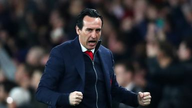 Emery: Arsenal 'one of six' to win EL