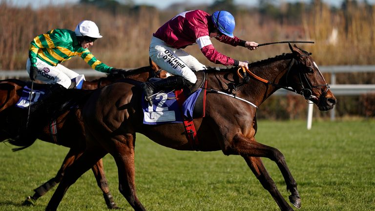 Jack Kennedy and Commander Of Fleet win at Leopardstown