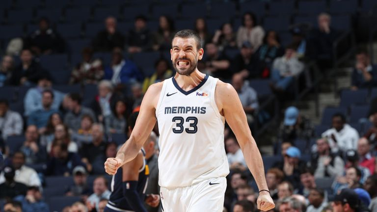 Marc Gasol is set to make his Toronto Raptors debut on Saturday night