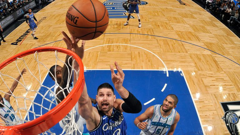 Highlights of the Charlotte Hornets' visit to the Orlando Magic in week 18 of the NBA