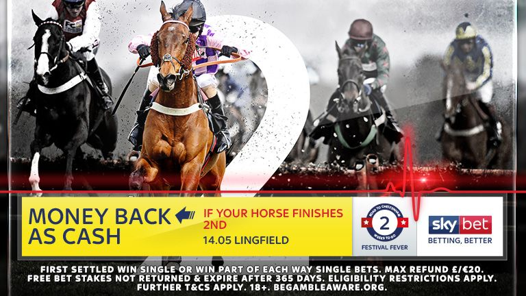 Money Back As Cash If Second - 14:05 Lingfield