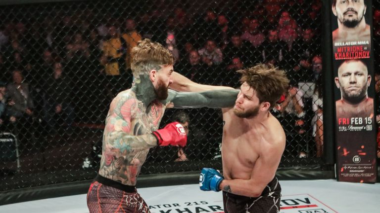 Aaron Chalmers lost for the first time