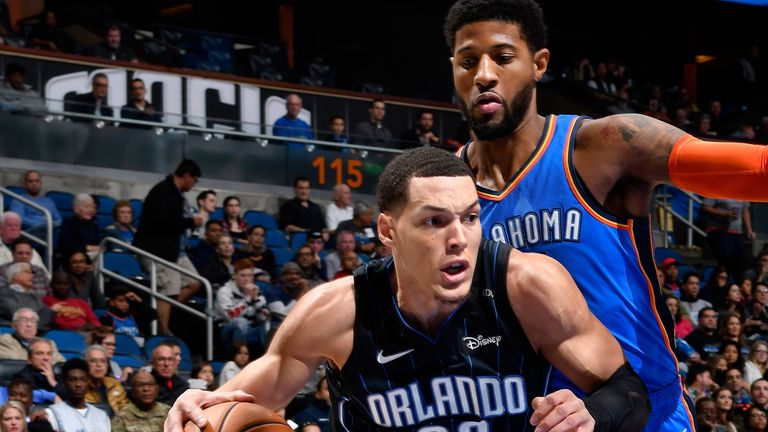 Aaron Gordon has formed an effective line with Vucevic and Isaac