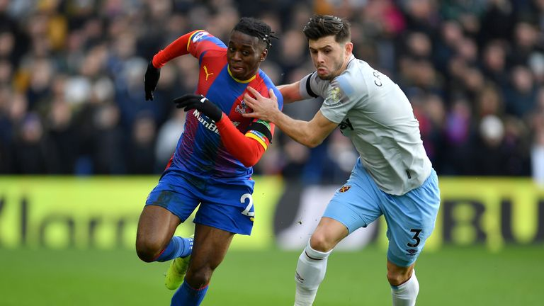 Aaron Wan-Bissaka has flourished under Roy Hodgson