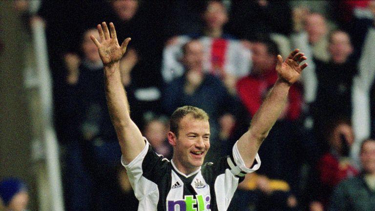 Alan Shearer was Collins' hero growing up