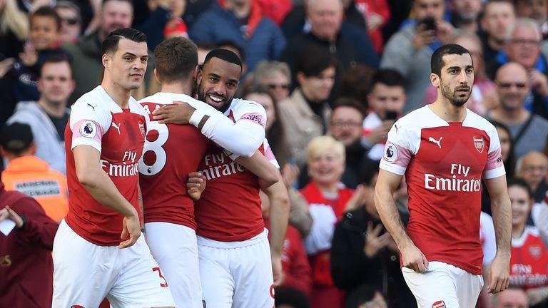 Alexandre Lacazette has scored 14 goals for Arsenal this season