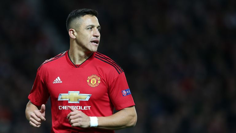 Sanchez has started just once in the Premier League under Ole Gunnar Solskjaer