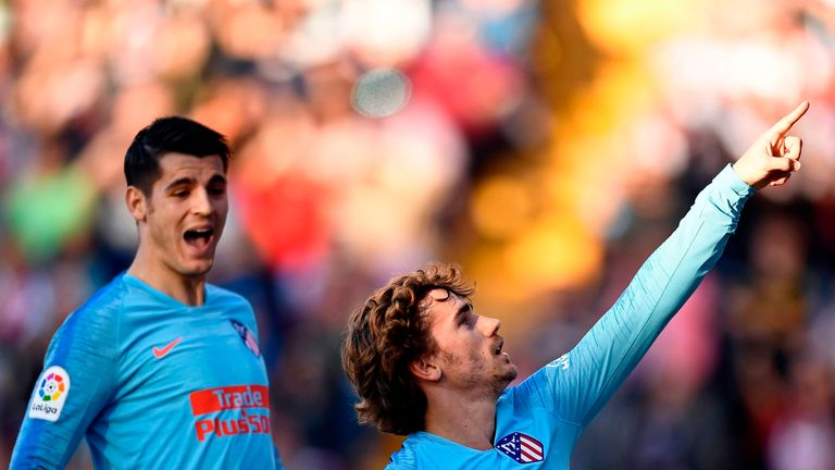 Alvaro Morata assists Atletico Madrid winner against Rayo Vallecano