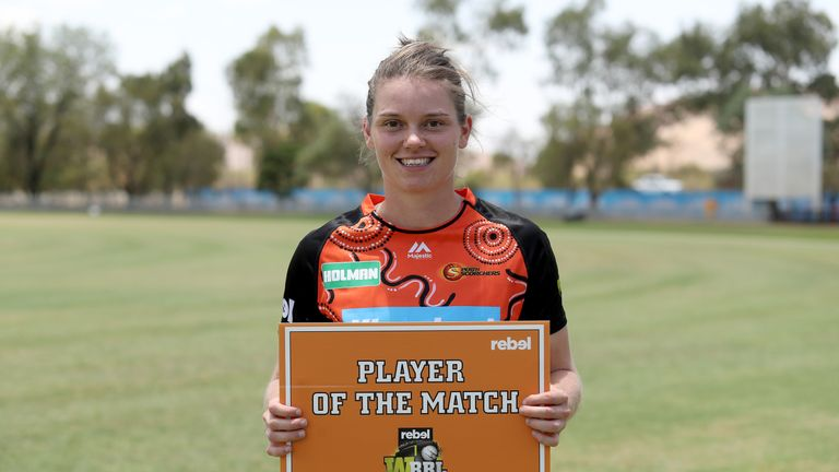 Jones finished the 2018 WBBL with two half-centuries from 13 innings