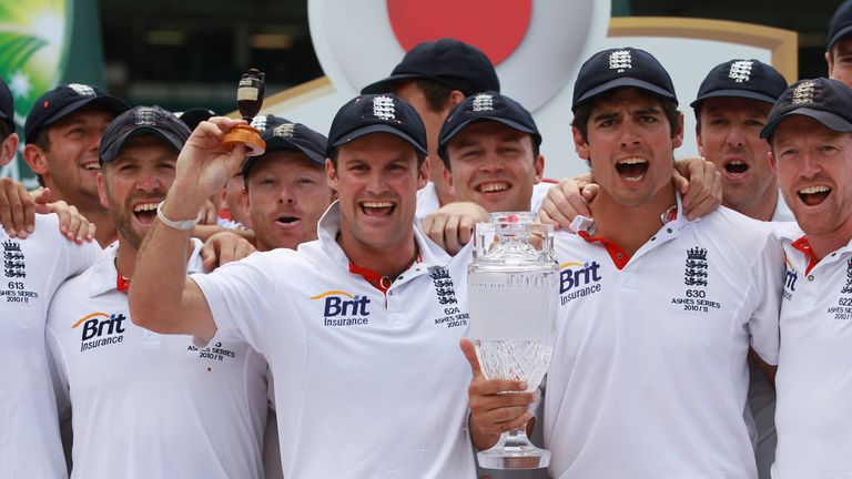 The England side that won the 2010/11 Ashes had a top seven all averaging over 40