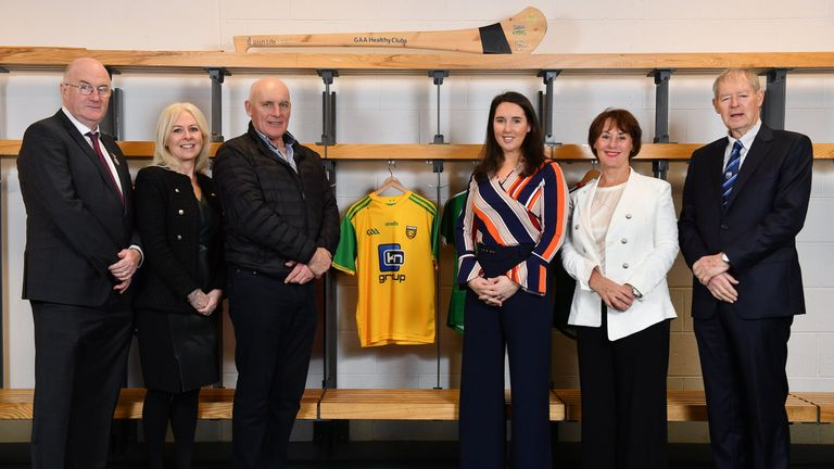 Anthony Molloy was speaking at the How to Age Well: GAA and TILDA Partnership launch