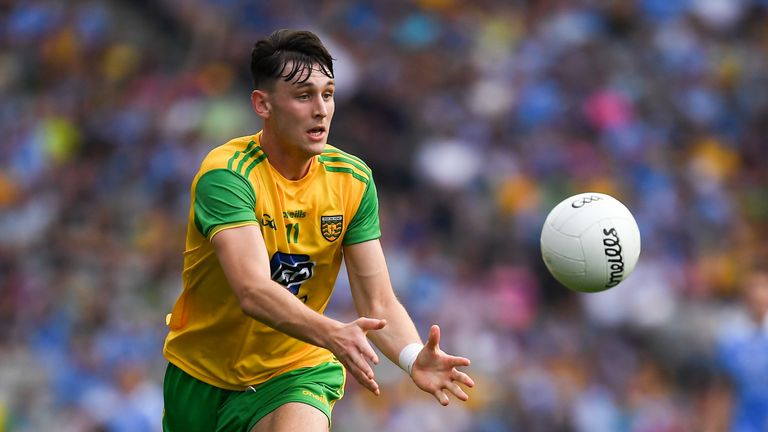 Michael Langan is among the young stars on the Donegal team