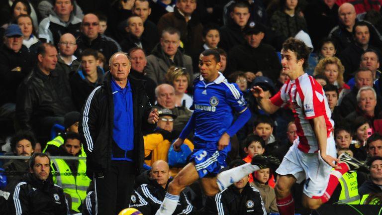 Ashley Cole enjoyed his short stint playing under Luiz Felipe Scolari at Chelsea