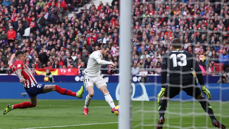 Gareth Bale put the result beyond doubt in Saturday's Madrid derby