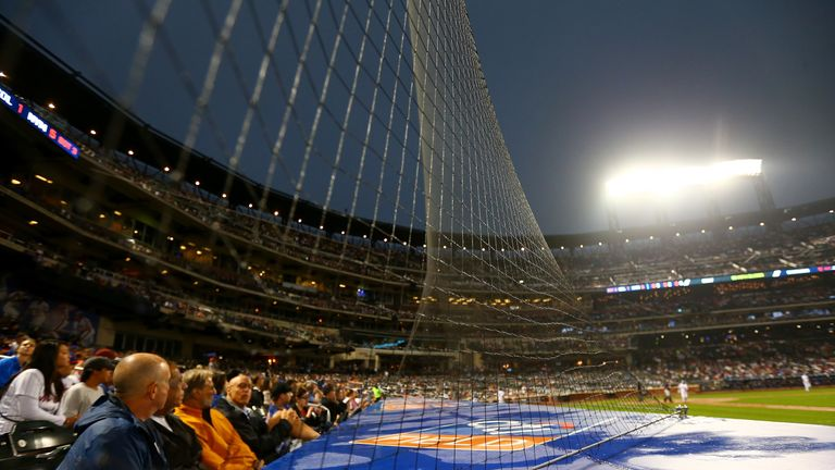 Additional protective netting was installed at all 30 major league ballparks last season