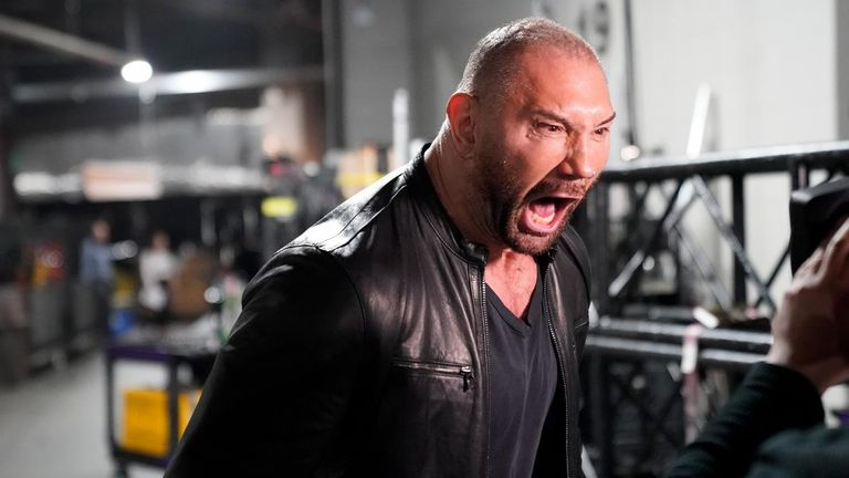 Batista will provide the finishing touch to the pre-WrestleMania build-up  for his