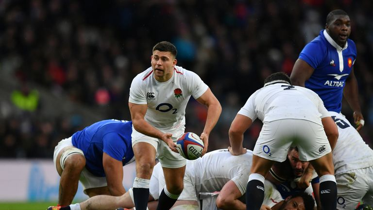 Ben Youngs started England's victories against Ireland and France this month