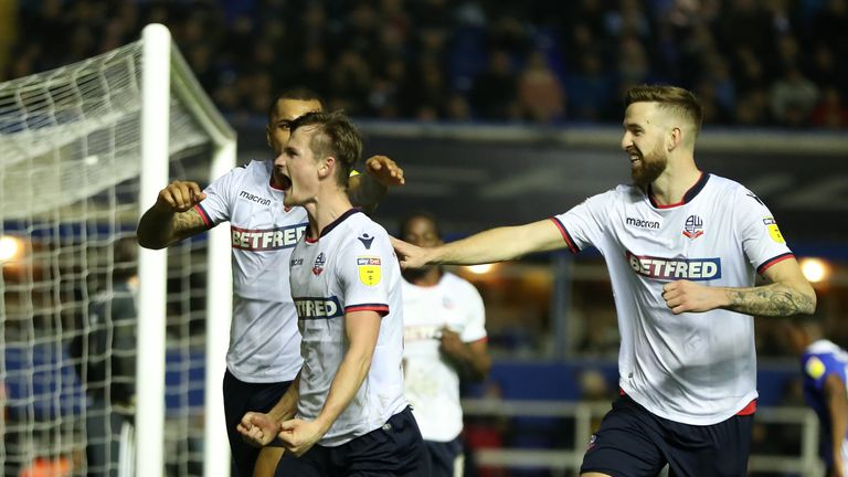 The Bolton players are still waiting for their March wages