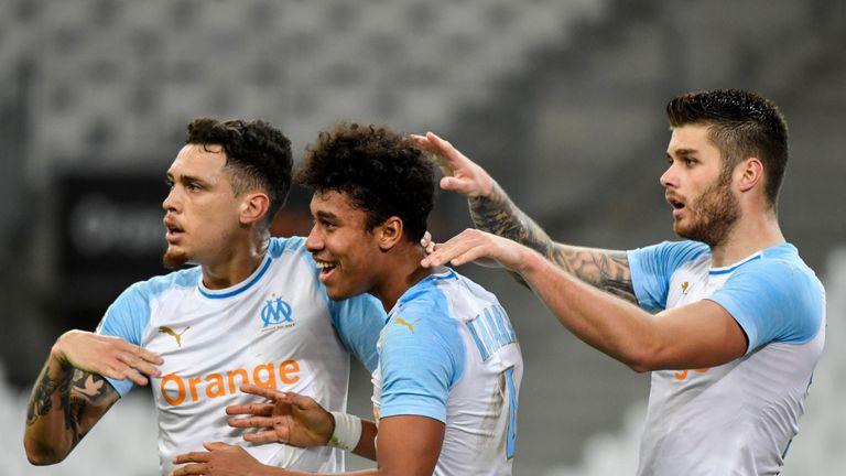 Boubacar Kamara scored his first Marseille goal against Bordeaux