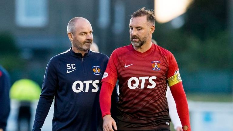 Will this be Kris Boyd's last match at Kilmarnock? The striker is yet to decide on his future for next season