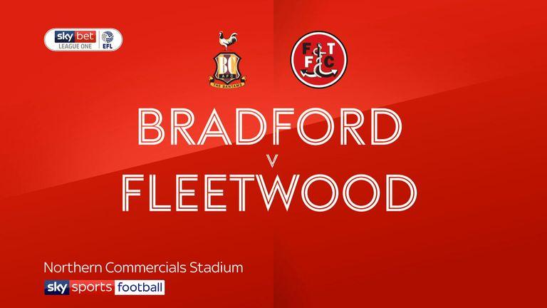 Bradford 0-1 Fleetwood: Paddy Madden hits winner