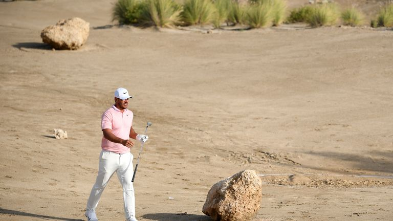 Koepka went on to bogey the hole on his way to a level-par 70