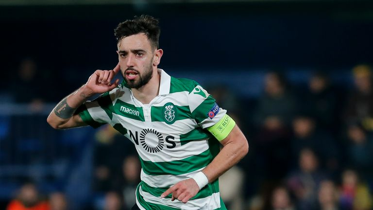 Bruno Fernandes has been in hot form for Sporting Lisbon this season.