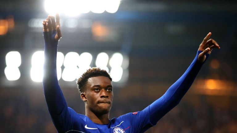 A Chelsea transfer ban could mean more opportunities for Callum Hudson-Odoi