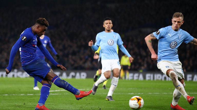Hudson-Odoi finally got his deserved goal late in the game