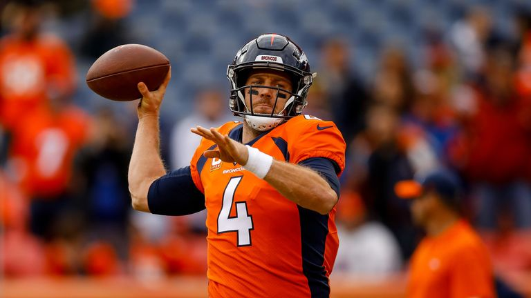 Case Keenum arrives in Washington after a middling season at quarterback with the Denver Broncos