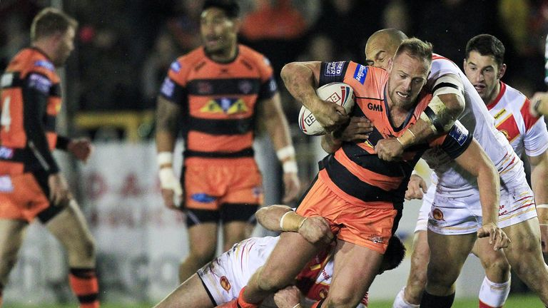 Liam Watts is the Tigers top tackler so far in this campaign