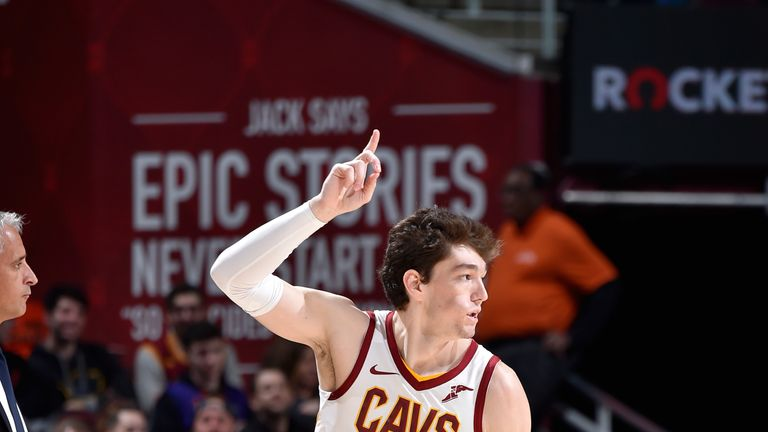 Cedi Osman's late scoring helped the Cavs to victory