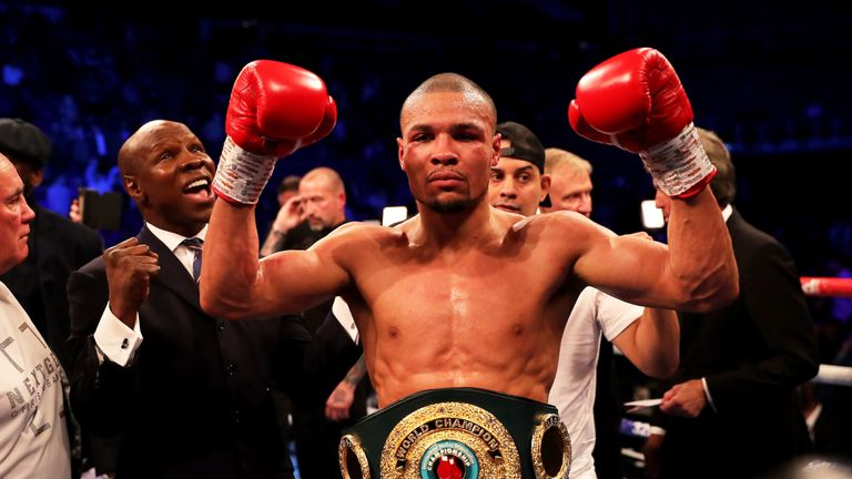 A domestic clash with Chris Eubank Jr would interest Smith