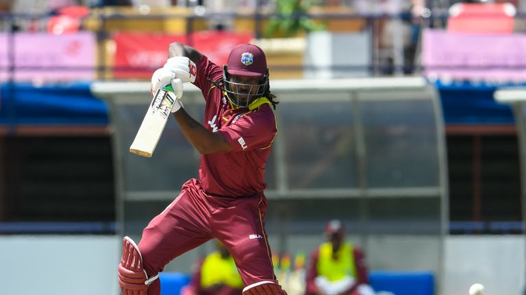 Chris Gayle has expressed an interest in playing in 'The Hundred'