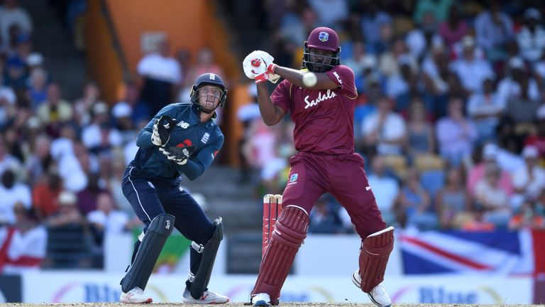 Chris Gayle was in remarkable form during England's ODI series in the Caribbean earlier this year