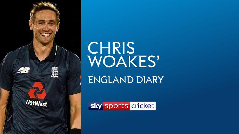 Chris Woakes' England diary