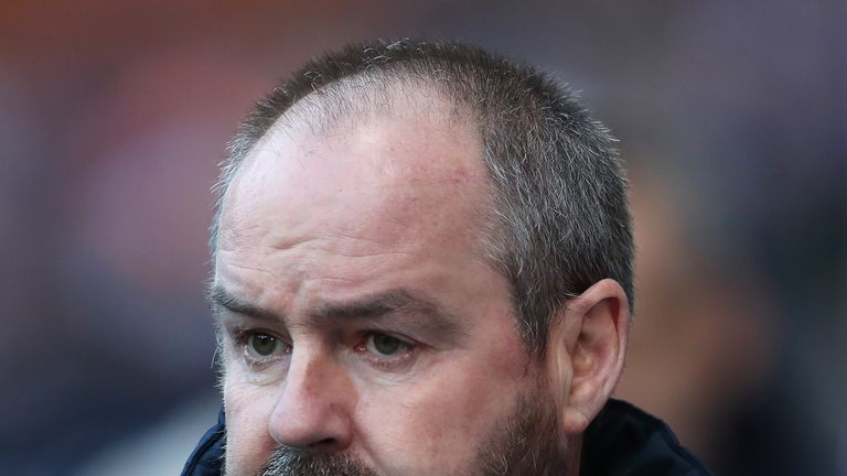 "Kilmarnock manager Steve Clarke would like to manage Scotland ""at some stage"""