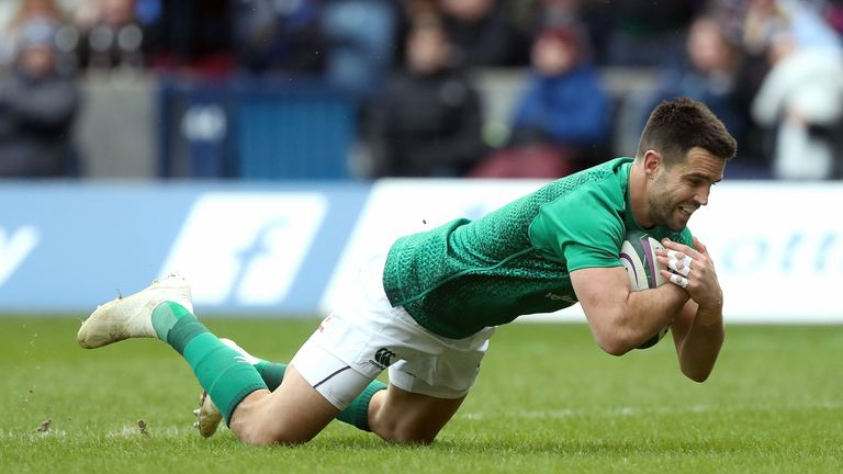 Conor Murray scored the opening try of the game after 10 minutes