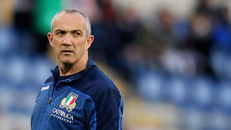 Conor O'Shea is under pressure with Italy