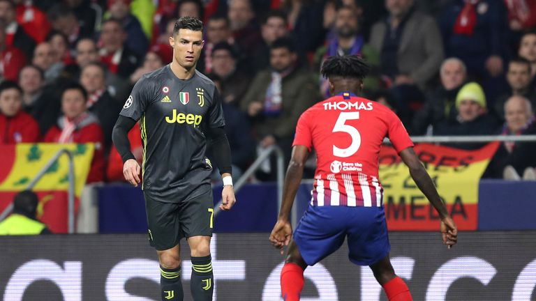 Partey ineligible for Atletico clash against Juventus